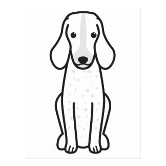 Grand Bleu de Gascogne Dog Cartoon Postcard