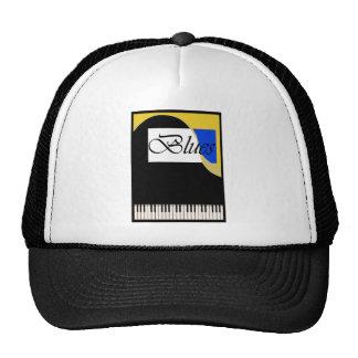 Grand Blues Piano Mesh Hat