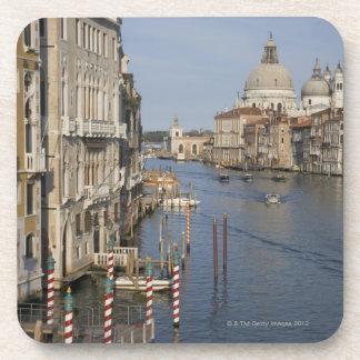 Grand Canal and Santa Maria Della Salute Church Beverage Coaster