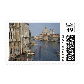 Grand Canal and Santa Maria Della Salute Church Postage