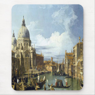'Grand Canal and the Church of the Salute' Mouse Pad
