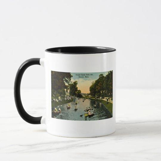 Grand Canal Belle Isle, Detroit, Michigan Mug