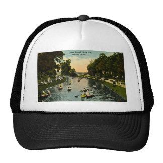 Grand Canal Belle Isle, Detroit, Michigan Trucker Hat