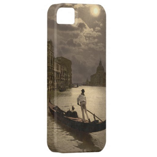 Grand Canal by Moonlight II, Venice, Italy iPhone 5 Cases