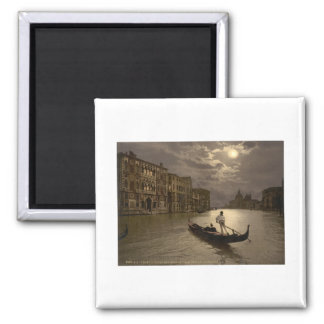 Grand Canal by Moonlight II, Venice, Italy Magnet