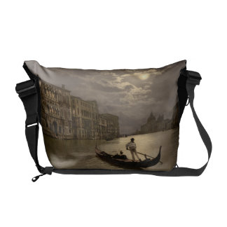 Grand Canal by Moonlight II, Venice, Italy Commuter Bag