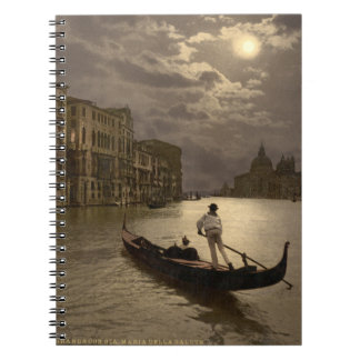 Grand Canal by Moonlight II, Venice, Italy Notebook
