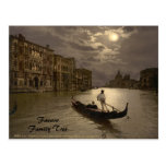 Grand Canal by Moonlight II, Venice, Italy Postcard