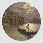 Grand Canal by Moonlight II, Venice, Italy Sticker
