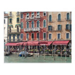Grand Canal Cafes - Venice Italy Post Card