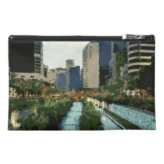 Grand Canal Evening in Hong Kong City Travel Accessory Bags
