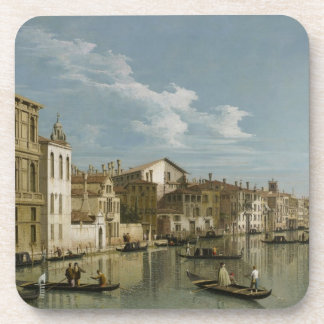 Grand Canal from Palazzo Flangini to Palazzo Bembo Drink Coaster