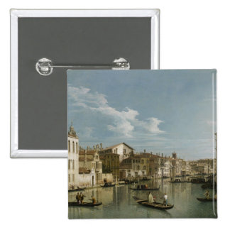 Grand Canal from Palazzo Flangini to Palazzo Bembo Pinback Button