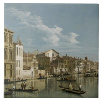 Grand Canal from Palazzo Flangini to Palazzo Bembo Tile