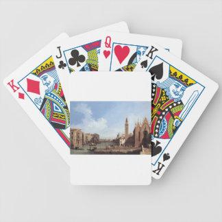Grand Canal From Santa Maria Della Carita Bicycle Playing Cards