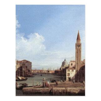 Grand Canal From Santa Maria Della Carita Postcard