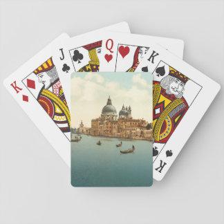 Grand Canal I, Venice, Italy Poker Cards