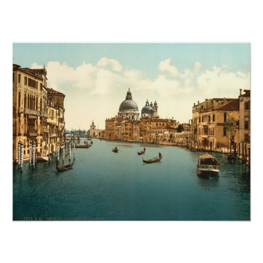 Grand Canal I, Venice, Italy Poster