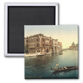 Grand Canal II, Venice, Italy 2 Inch Square Magnet