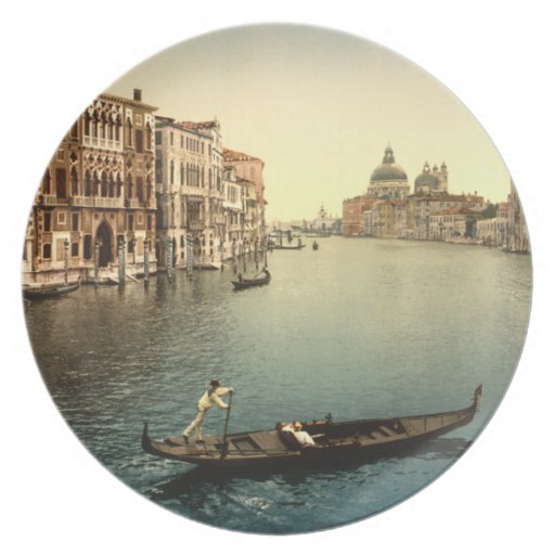 Grand Canal II, Venice, Italy Party Plate
