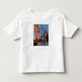 Grand Canal in Venice by Edouard Manet Toddler T-shirt