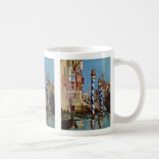 Grand Canal In Venice By Manet Edouard Coffee Mug