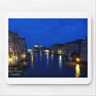 Grand canal of Venice by night Mouse Pad