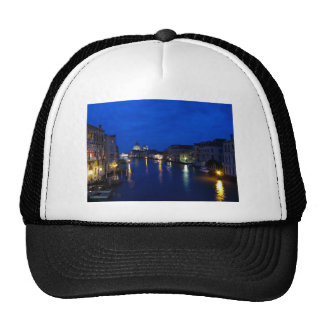 Grand canal of Venice by night Trucker Hat