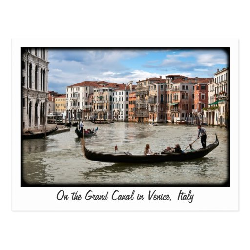 Grand Canal Post Card