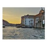 Grand Canal Sunrise - Venice Italy Postcard