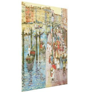 Grand Canal, Venice by Maurice Prendergast Canvas Print