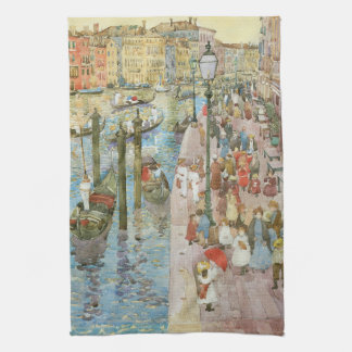 Grand Canal, Venice by Maurice Prendergast Hand Towel