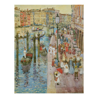 Grand Canal, Venice by Maurice Prendergast Poster