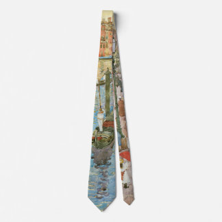 Grand Canal, Venice by Maurice Prendergast Tie