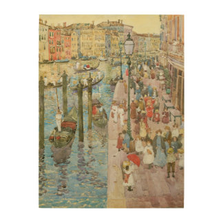 Grand Canal, Venice by Maurice Prendergast Wood Wall Art