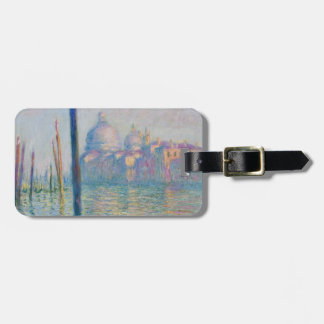 Grand Canal Venice by Monet Bag Tag