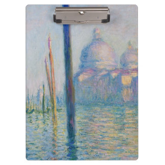 Grand Canal Venice by Monet Clipboard