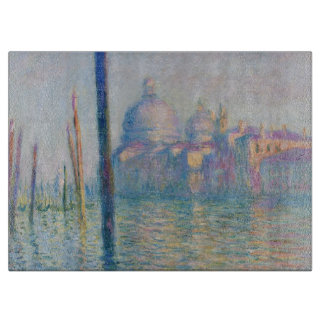 Grand Canal Venice by Monet Cutting Board