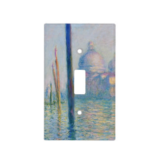 Grand Canal Venice by Monet Light Switch Cover