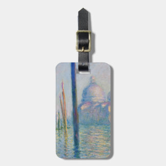 Grand Canal Venice by Monet Luggage Tag