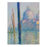 Grand Canal Venice by Monet Postcard