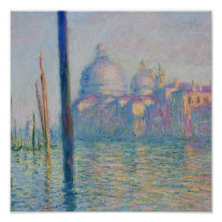 Grand Canal Venice by Monet Poster