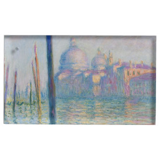 Grand Canal Venice by Monet Table Card Holder