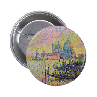 Grand Canal, Venice by Paul Signac 2 Inch Round Button