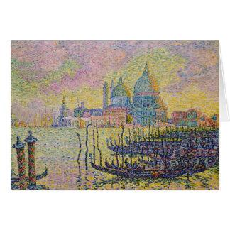 Grand Canal, Venice by Paul Signac Card