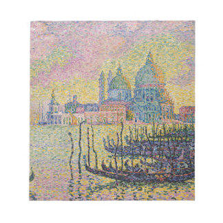 Grand Canal, Venice by Paul Signac Notepad