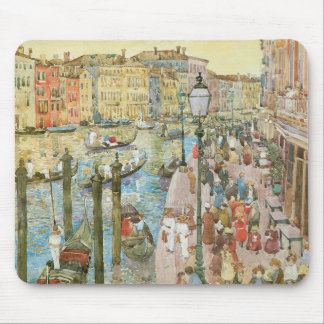 Grand Canal, Venice by Prendergast, Vintage Art Mousepads
