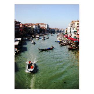 Grand Canal Venice from Rialto Bridge Postcards