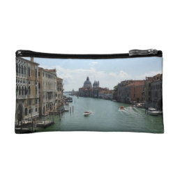 Grand Canal, Venice Greeting Card Cosmetics Purse