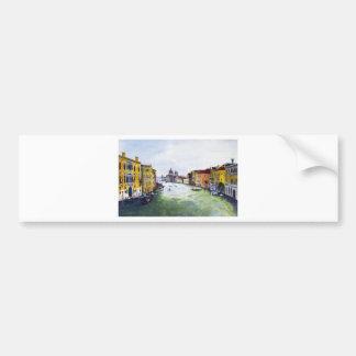 Grand Canal, Venice, Italy Car Bumper Sticker